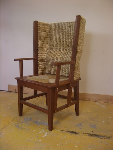 Gents Orkney Chair in Mahogany £1230